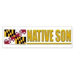Maryland Native Son Bumpersticker