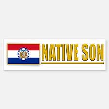 Missouri Native Son Bumpersticker