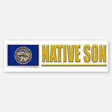 Nebraska Native Son Bumpersticker
