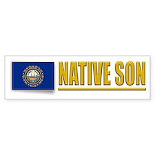 New Hampshire Native Son Bumpersticker