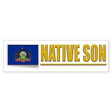 Pennsylvania Native Son Bumpersticker