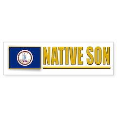 Virginia Native Son Bumpersticker