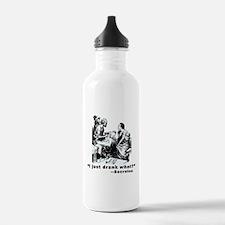 Socrates Humor Hemlock Water Bottle
