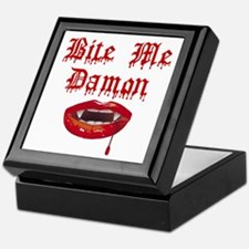 Bite Me Damon Keepsake Box