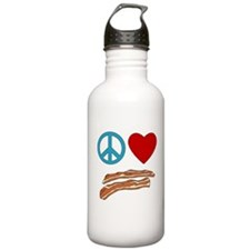 Cute Peace bacon Water Bottle