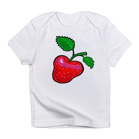Fresh Summer Strawberry Infant T-Shirt