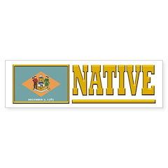 Delaware Native Sticker (Bumper)