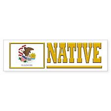 Illinois Native Bumper Sticker