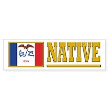 Iowa Native Stickers