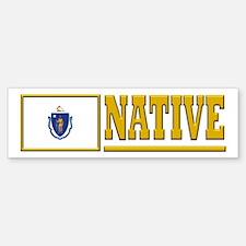 Massachusetts Native Bumpersticker