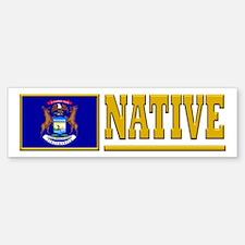 Michigan Native Bumpersticker