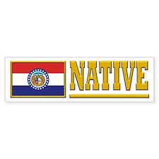 Missouri Native Bumpersticker