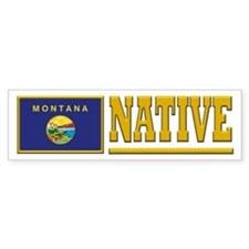 Montana Native Bumpersticker