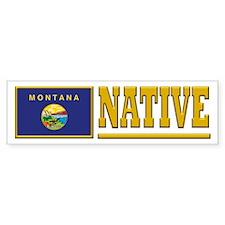Montana Native Bumpersticker (10pk)