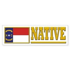 North Carolina Native Bumpersticker