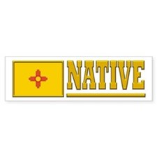 New Mexico Native Bumpersticker