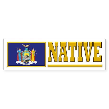 New York Native Bumpersticker