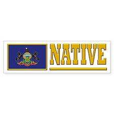 Pennsylvania Native Bumpersticker
