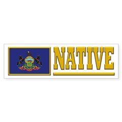 Pennsylvania Native Bumpersticker (10pk)