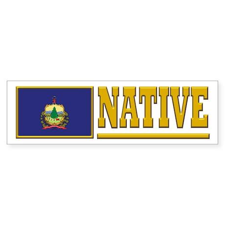 Vermont Native Bumpersticker