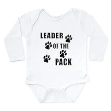 Leader of the Pack Long Sleeve Infant Bodysuit