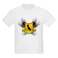 Black and Gold Crest - Calif T-Shirt