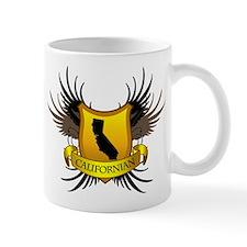 Black and Gold Crest - Calif Mug