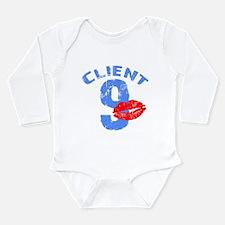 Client 9 Smooch Long Sleeve Infant Bodysuit