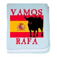 Vamos Rafa Tennis baby blanket