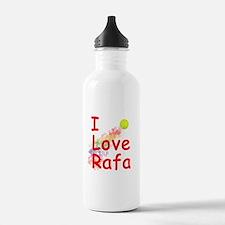 I Love Rafa Water Bottle