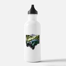 Funny Vintage car Water Bottle