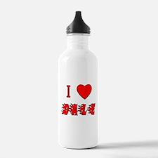 I Love Dale Water Bottle