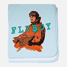 FLYBOY Vintage Pilot baby blanket