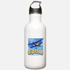 Funny Piper aircraft Water Bottle