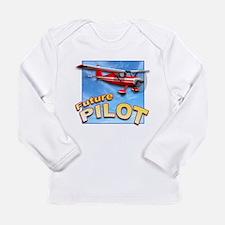 Cute Airplane Long Sleeve Infant T-Shirt