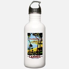 Cannes France Luggage Water Bottle