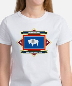 Wyoming Flag Women's T-Shirt