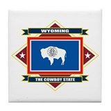 Cody wyoming Tile Coasters