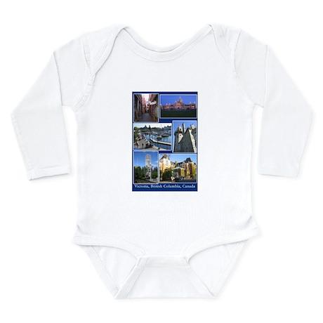 Victoria BC Canada Long Sleeve Infant Bodysuit