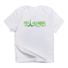 Paris w Eiffel Tower Infant T-Shirt