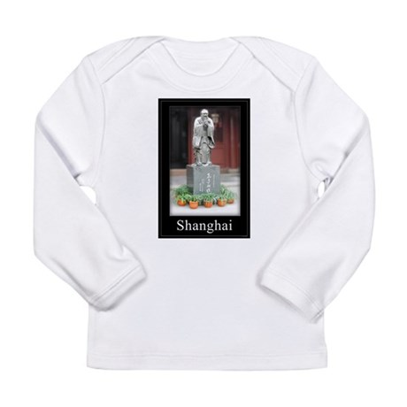Confucius in Shanghai Long Sleeve Infant T-Shirt