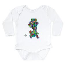 Cool Seattle Long Sleeve Infant Bodysuit