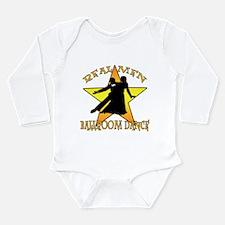 Real Men Ballroom Dance Long Sleeve Infant Bodysui