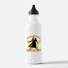 Real Men Ballroom Dance Water Bottle