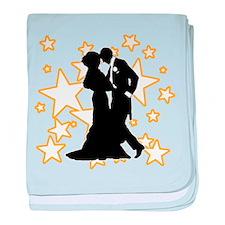 Ballroom Dance Couple baby blanket