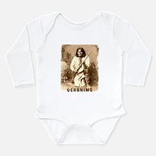 Cute Homeland security native american Long Sleeve Infant Bodysuit