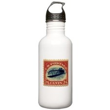 Rare Inverted Jenny Stamp Water Bottle