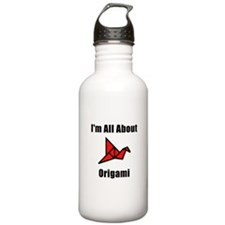 I'm All About Origami Water Bottle