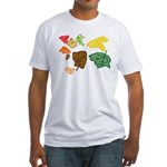 Autumn Leaves Fitted T-Shirt