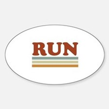 Unique 10k run Sticker (Oval)